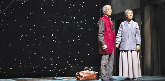 연극 3월의 눈의 한 장면 (조선일보 자료).jpg