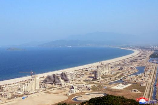 원산갈마해안관광지구 건설현장-전경.jpg