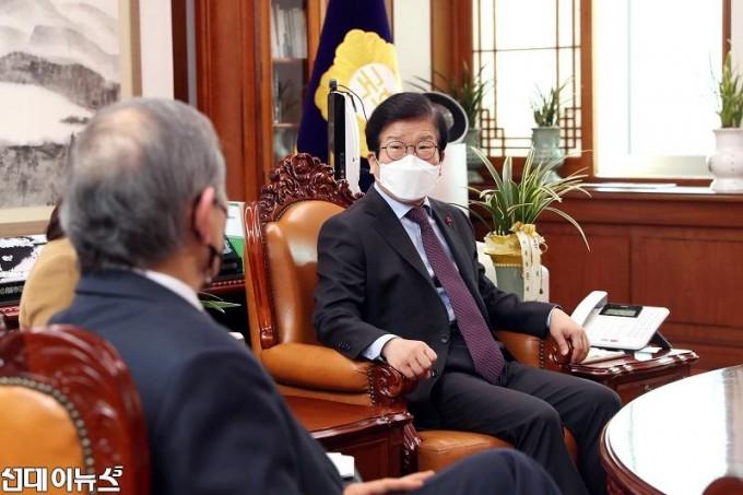 박병석 국회의장, 해리스 주한미국대사 이임 예방 받아22222222222.jpg