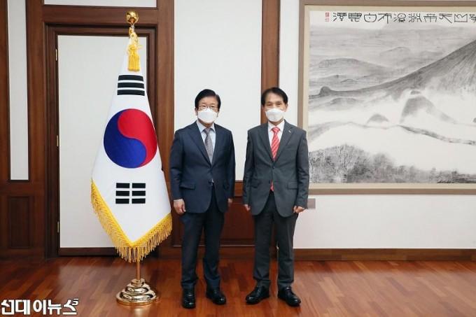 박병석 국회의장, 이광형 신임 KAIST 총장 예방 받아11111.jpg
