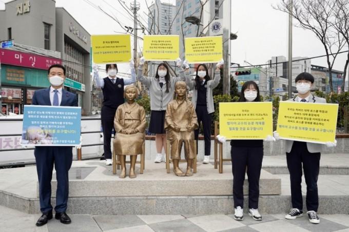 성북구 보도자료] 성북동 '한·중 평화의소녀상' 더 많은 시민과 만나기 위해 분수마루 광장 이전(20210302)2.JPG