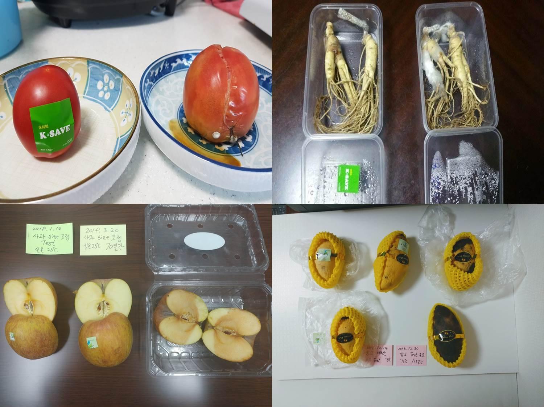 국내 스타트업 기업 'k-save 케이세이브 신선도 스티커`로 식품의 손실을 줄이다