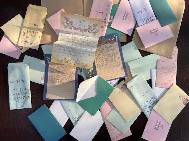 주요 대권 후보자들에게  편지 부친 남양주 조안면 어린이들...무슨 일로?