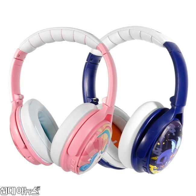 청력보호하는 어린이용 무선 헤드폰 '버디폰 코스모스ANC', 국내 첫 출시