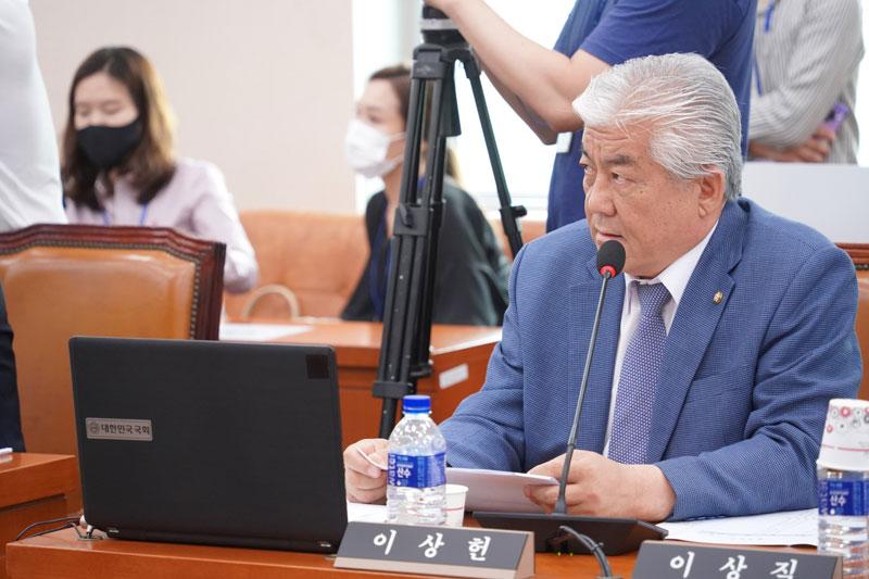 이상헌 의원, 체육계의 '체계적이지 못한 관리·감독 시스템' 기울어진 권한 지적