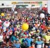 제17회 밀양아리랑마라톤대회 참여 열기'후끈'