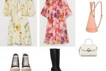 [패션피플] '플로럴 패턴 원피스 스타일링', 봄을 옷으로 입어보자.