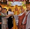 일경큰스님, '달라이라마'에게 뜻깊은 선물 받아