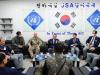 향군회장단 판문점 견학···JSA에 격려금 전달
