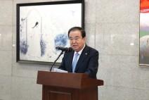 문희상 국회의장, 3.1운동 100주년 기념 전시회 참석
