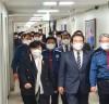 서영교 위원장, 정세균 국무총리와 경찰청 방문