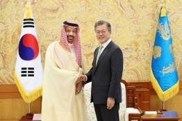 """문 대통령,사우디 에너지부장관 접견... """"미래의 동반성장 파트너""""협력"""