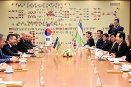 정세균 의장, '대한민국 국회와 우즈베키스탄 의회간 협력의정서(MOU)' 체결