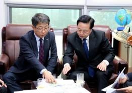 김두관 의원, 한강신도시의 랜드마크 금빛수로 및 실개천 팔당원수 공급 확정