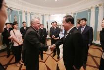 문희상 국회의장, 설리번 美 국무부 장관대행 및 비건 대북정책 특별대표 면담