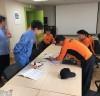금호119안전센터, 포스코 건강증진센터 현지적응훈련 실시