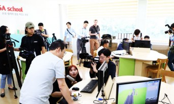 외신기자들 DMZ 유일 민간인 거주 대성동 마을 방문