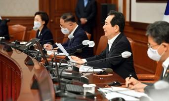 """정 총리 """"지금 전시상황… 추경으로 당장 불 꺼야"""""""
