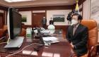 """박병석 국회의장, """"남북관계를 개선하고 북미관계를 촉진시키기 위해 우리의 역할이 그 어느 때보다 중요"""""""